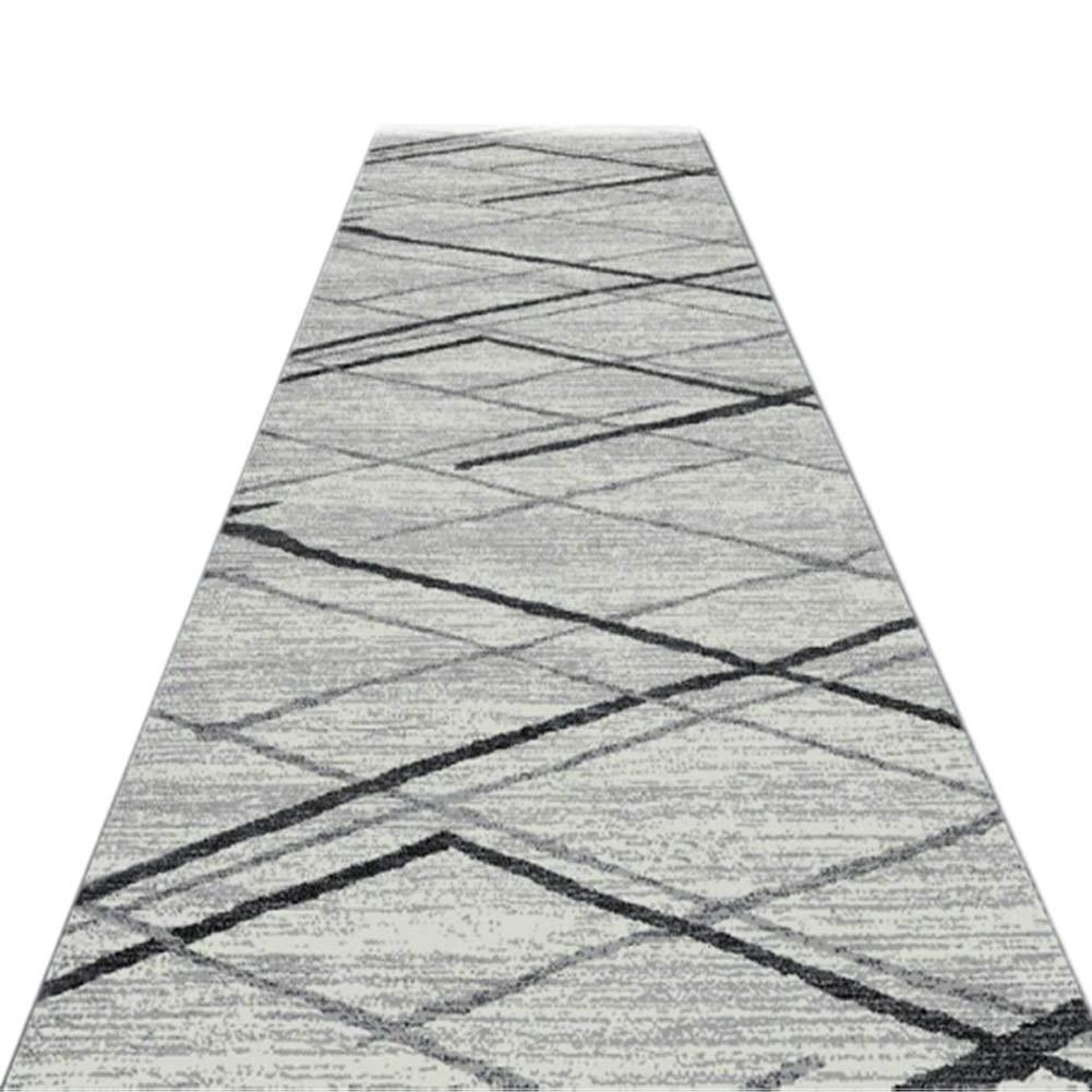 JIAJUAN Läufer Teppiche Flur Weich Dauerhaft Schneidbar Küche Passage Lange Teppich, 7mm, 2 Farben, Mehrere Größen Anpassbar (Farbe   B, größe   1.2x6m)