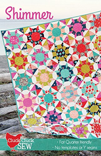 Shimmer Quilt Pattern by Cluck Cluck Sew - 5 sizes - #161 by cluck cluck sew