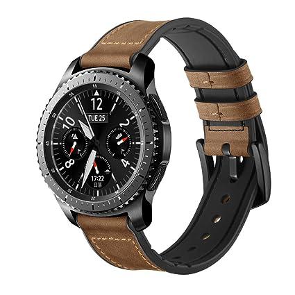 Amazon.com: Maxjoy - Correa de silicona para reloj ...
