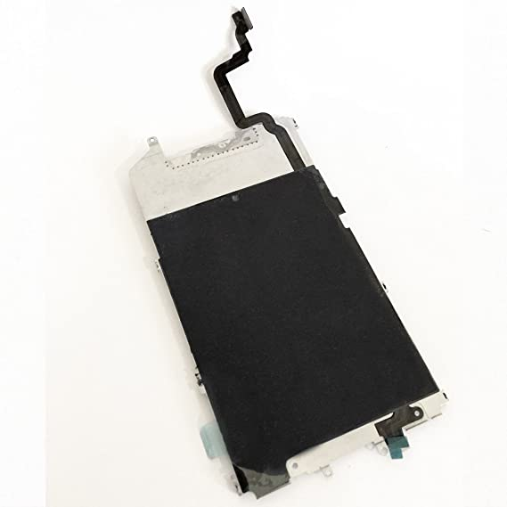 timeless design 3b489 1ddad Inner Metal LCD Shield Back Plate + HOME Button Connect Flex Cable Fix  Replacement Repair Parts for iPhone 6 Plus 5.5 Inch