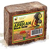 Anti Aging Skin Care Kit Organic African Black Soap - Best for Acne Treatment, Eczema, Dry Skin, Psoriasis, Scar Removal, Dandruff, Pimples Mark Removal, Anti-fungal Face & Body Wash