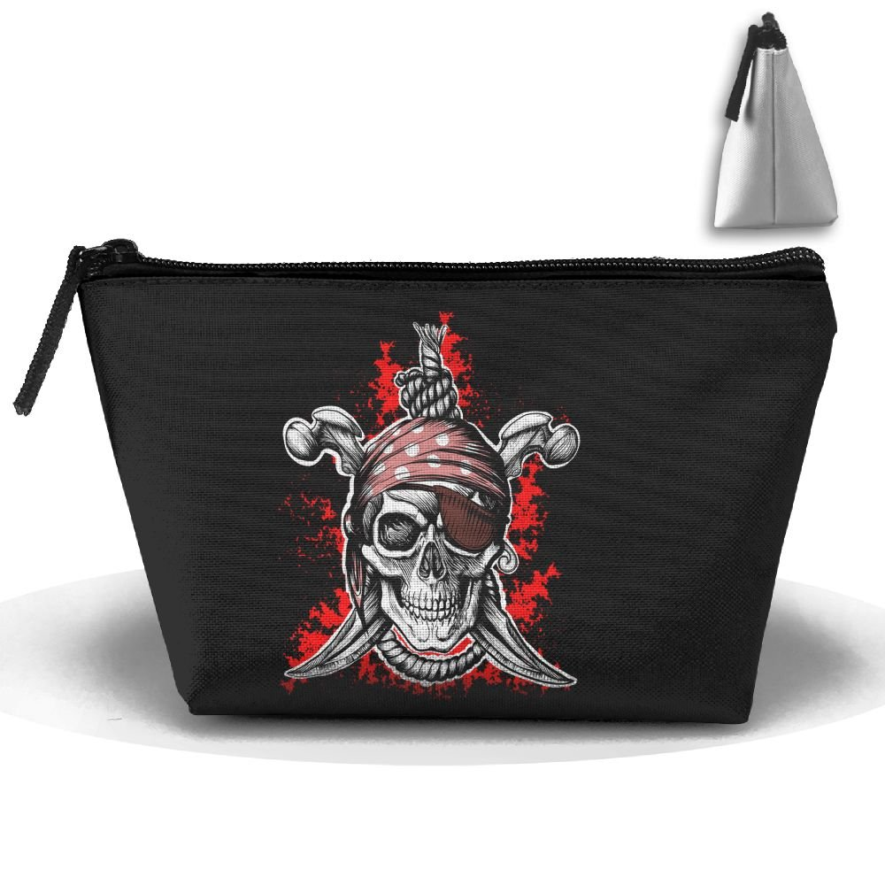 Unisex Stylish And Practical The Evil Pirate Skeleton Skull Trapezoidal Storage Bags Handbags cheap