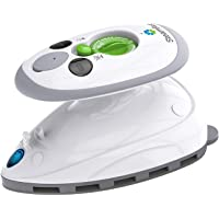 Steamfast SF-717 Mini Travel Steam Iron with Dual Voltage, Travel Bag, Non-Stick Soleplate, Anti-Slip Handle, Rapid Heating, 420W Power 3 Pack