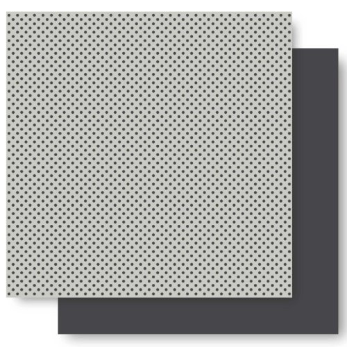 h by 12-Inch Basic Glitter Paper, Elephant Dot (Basic Grey 12x12 Paper)
