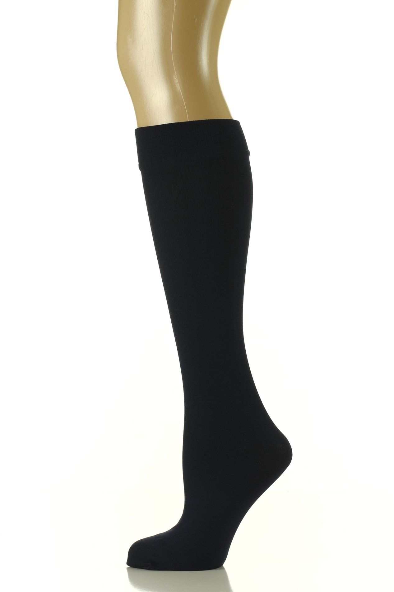 Noble Mount Womens Premium Fleece Lined Trouser Socks - 2PK (Size 9-11) - Navy