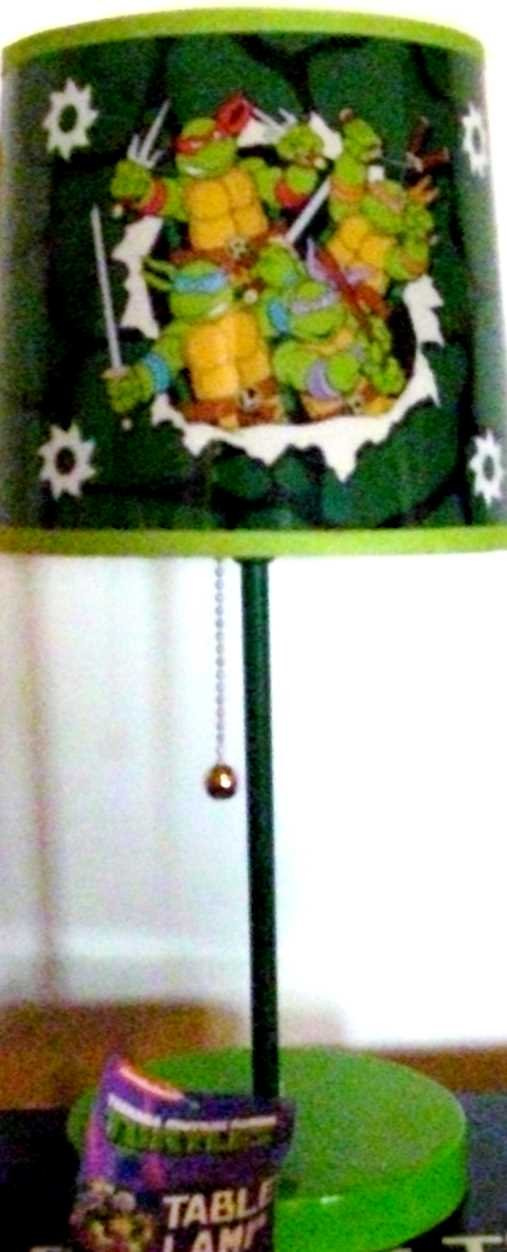 Teenage Mutant Ninja Turtles Table Lamp