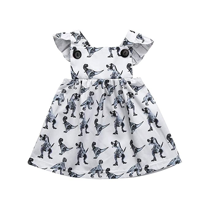 733ad99d1ab05 Amazon.com: Fashion Toddler Baby Clothes Set - Baby Girls Clothes ...