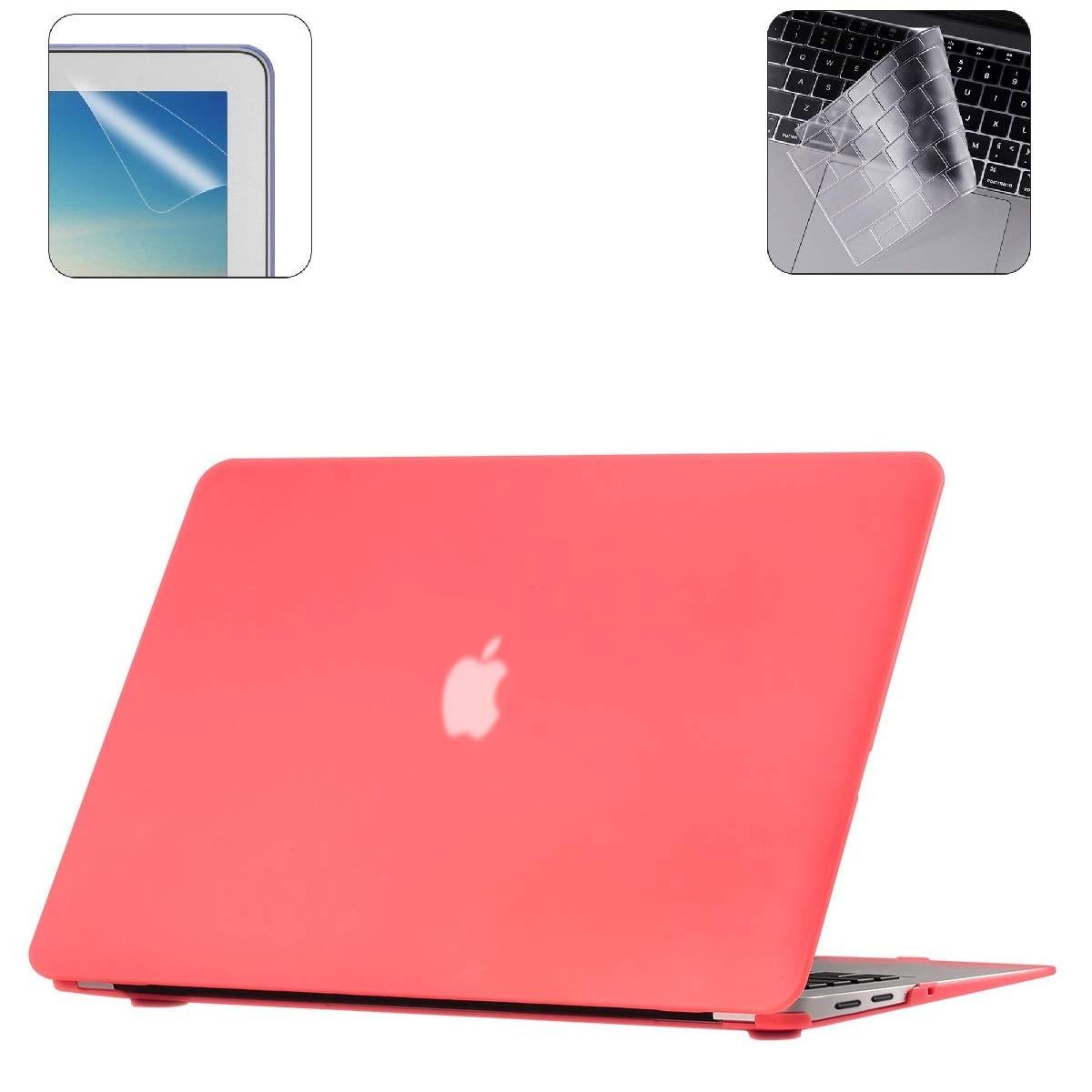 i-Buy Funda Dura para Carcasa MacBook Air 13 Pulgadas(Model A1932 2018.11) con Retina Display y Touch ID + TPU Skins para Teclado + Filtros de ...