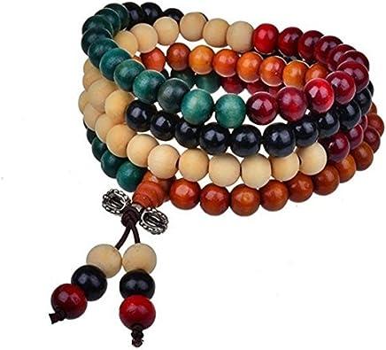 unisex jewelry gifts sandalwood meditaion beaded necklacebracelet stretch bracelet Buddhist prayer bracelet