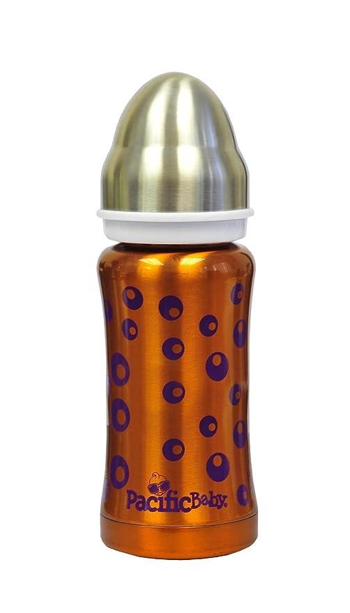 Pacific Baby - Biberón 3 en 1 (210 ml), diseño de burbujas