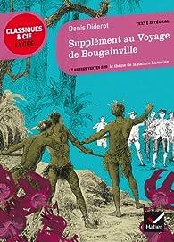 Supplément au Voyage de Bougainville: et autres textes sur le thèmes de la nature humaine par Denis Diderot