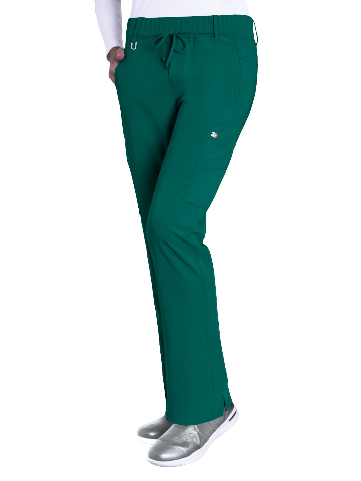 Grey's Anatomy Signature 2218 Trouser Cargo Pant Hunter Green XL