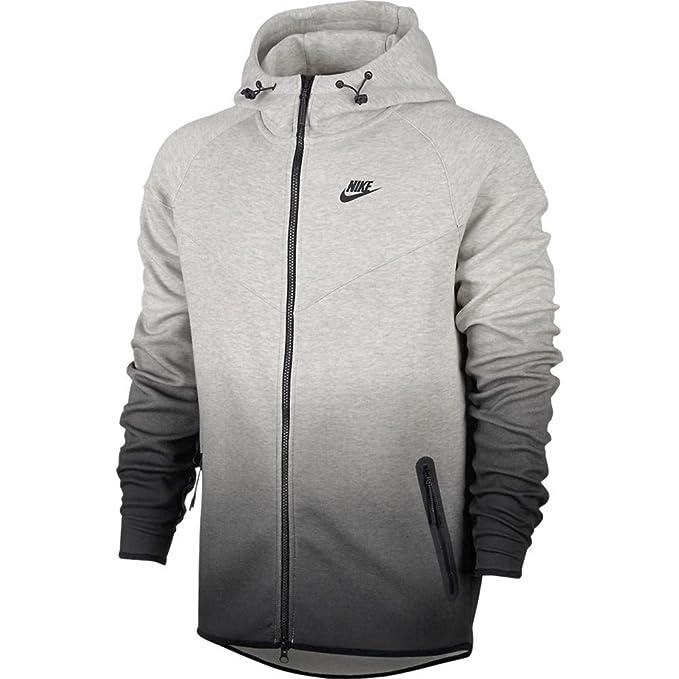 Felpa con cappuccio uomo Nike grigio melange | ScuderiStore