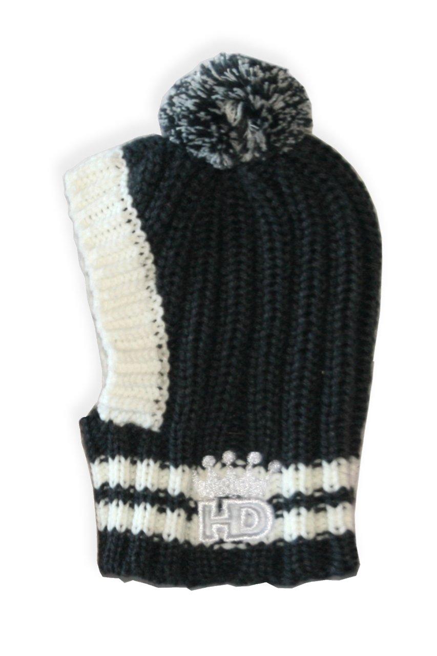 Hip Doggie HD 7CPG S Crown Knit Hat-S, Grey by Hip Doggie