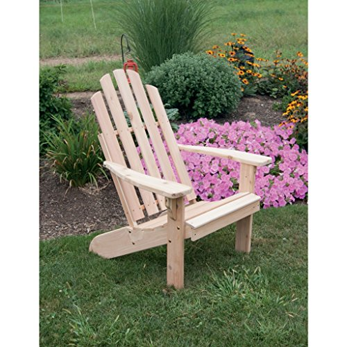 A & L FURNITURE CO. Western Red Cedar Kennebunkport Adirondack (Red Cedar Adirondack Rocking Chair)
