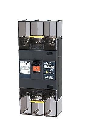 【クリックで詳細表示】テンパール工業 Eシリーズ(経済タイプ) 漏電遮断器OC付250A-100/200/500mA 警報スイッチ付 253EA25W2P