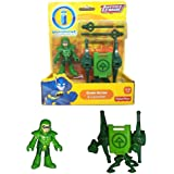 Imaginext, DC Comics Justice League, Green Arrow Figure and Launcher, 3 Inches
