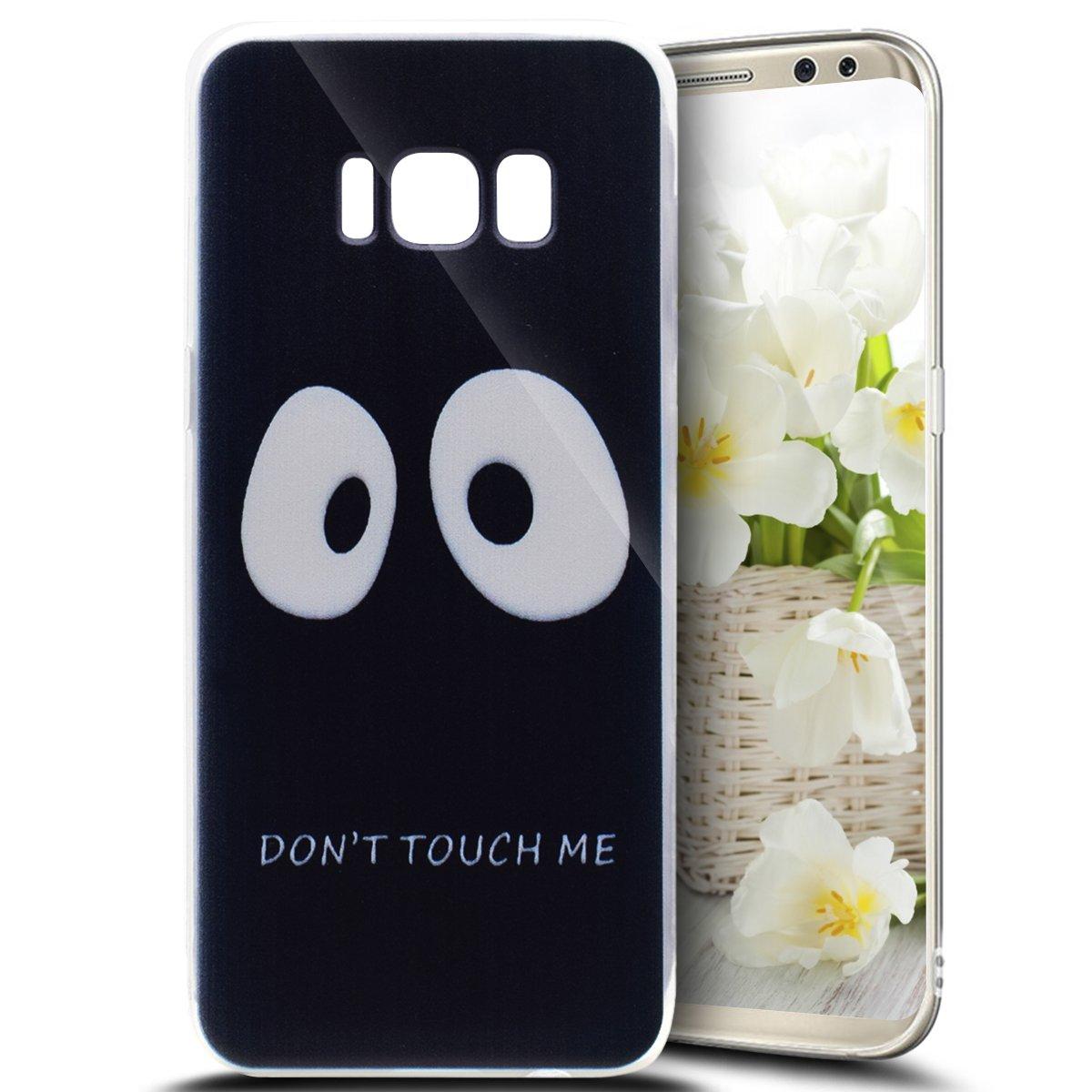 Custodia Cover Samsung Galaxy S8 silicone, Ukayfe 360 Grad Custodia per Samsung Galaxy S8 UltraSlim Policarbonato in Sfumatura di colore Copertura Cover Case Protettiva , Moda Serie Completa Screen-Protector 3d, Skin Custodia Stilosa custodia di design Pro