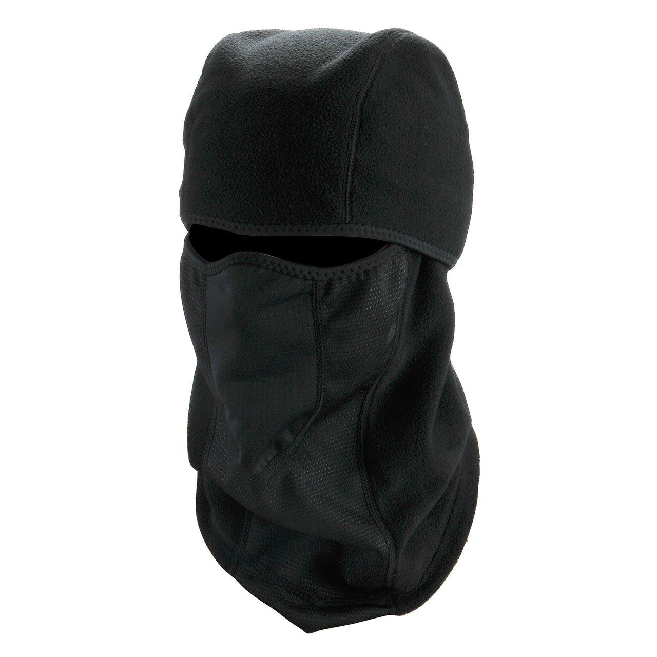 graceme Función motocicleta máscara Pasamontañas de esquí Máscara de esquí Campana Balaclava Negro Pasamontañas cálido verdickung transpirable SODE0075