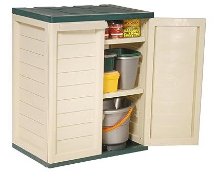 Magnificent Home Source Outdoor Garden Storage Cupboard 2 Door Cabinet 2 Shelves Heavy Duty Green Download Free Architecture Designs Terstmadebymaigaardcom