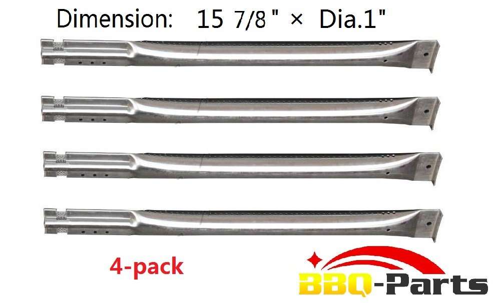 Hongso Sbe591 (4-Pack) Replacement Straight Stainless Steel Pipe Burner For C.. 2