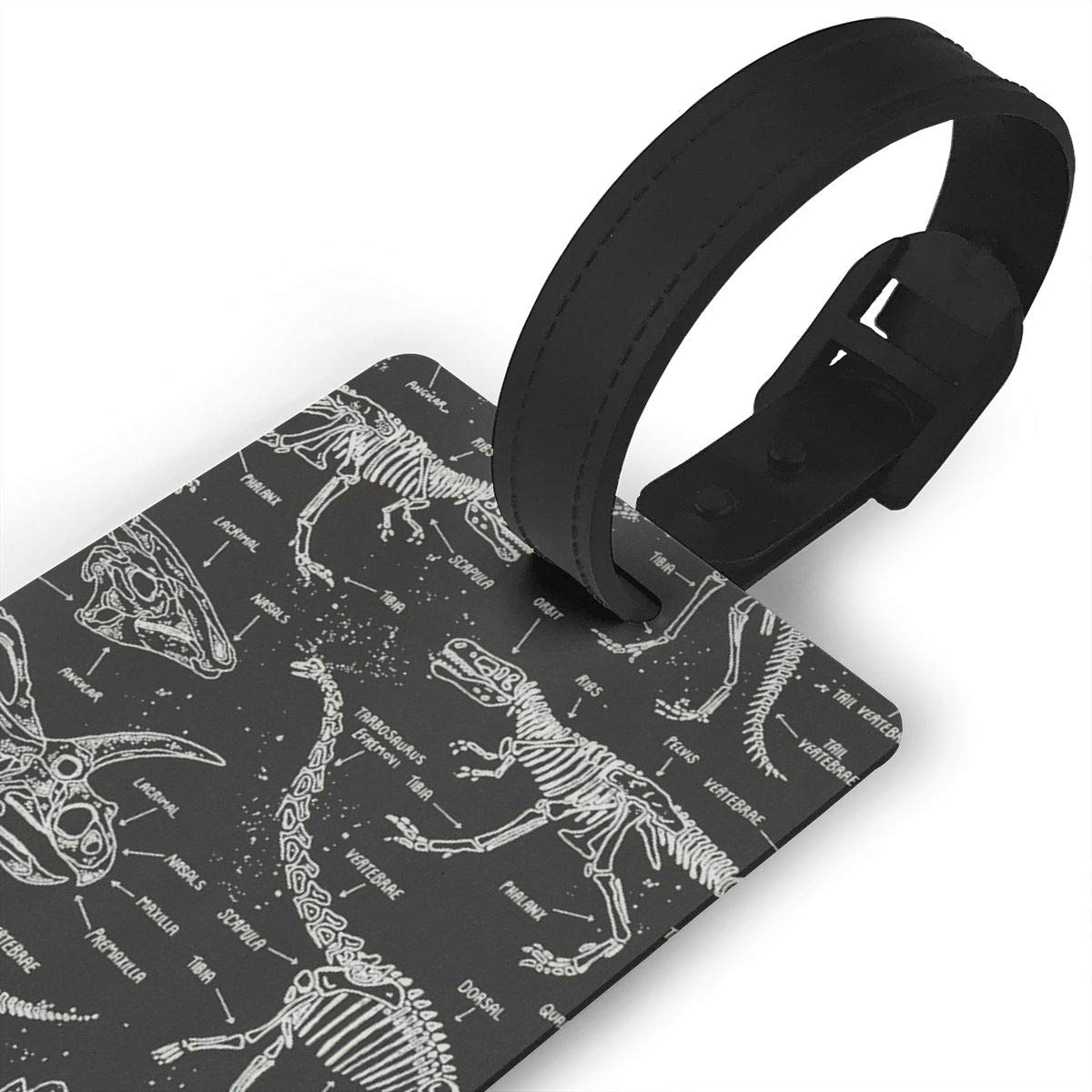 Dinasour Luggage Tags Bag Travel Labels For Baggage Suitcase