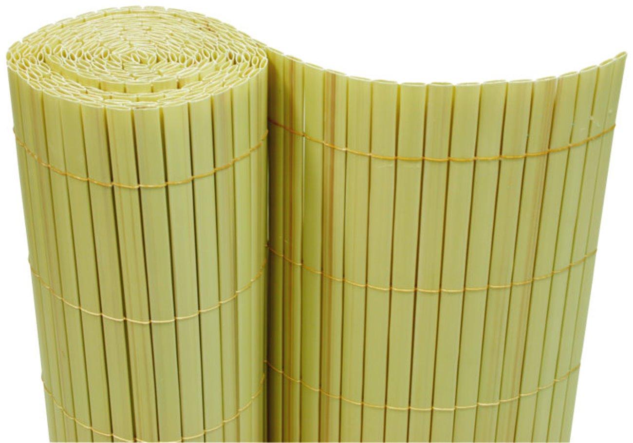 Amazon PVC Sichtschutzmatte 90x300 cm bambus