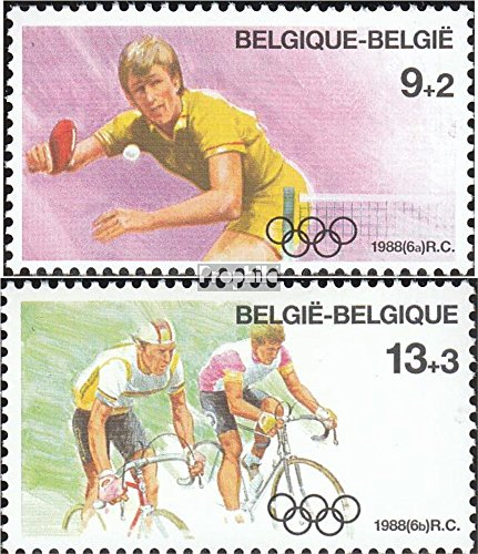 Belgium 2337-2338 (complete.issue.) unmounted mint / never hinged 1988 Olympics Summer (Stamps for collectors)
