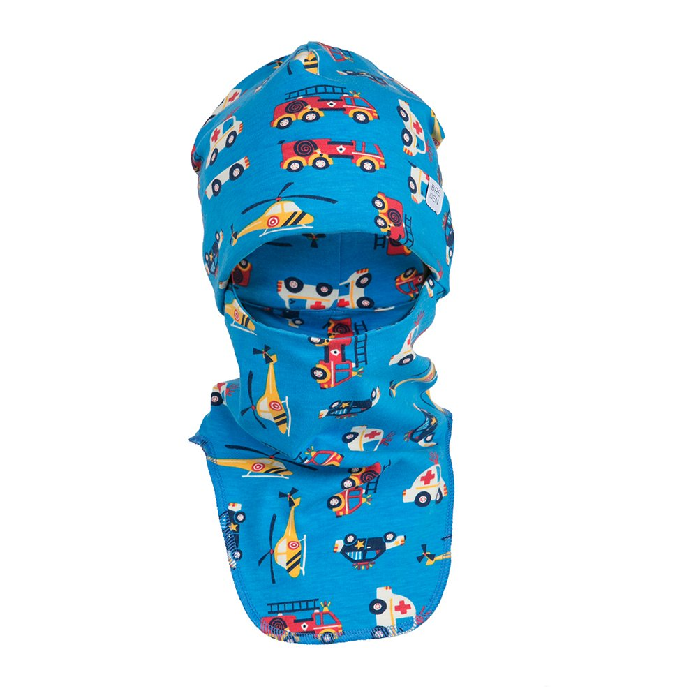 Kids Balaclava for Boys & Girls - Breathable & Warm   40°F - 60°F   Lightweight & Windproof Outdoor Face Mask Made of Pure Organic Cotton   Perfect Hat Scarf for an Active Baby Toddler & Child