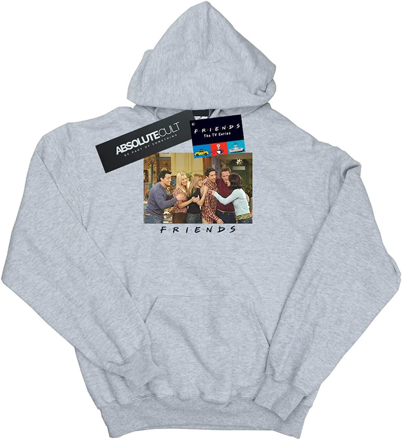 Absolute Cult Friends Girls Group Photo Apartment Hoodie