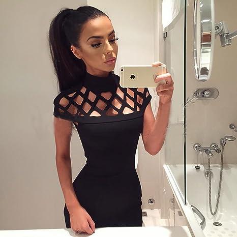 Elistelle Para Vestidos De Mujer Verano Sexy Mini Vestido