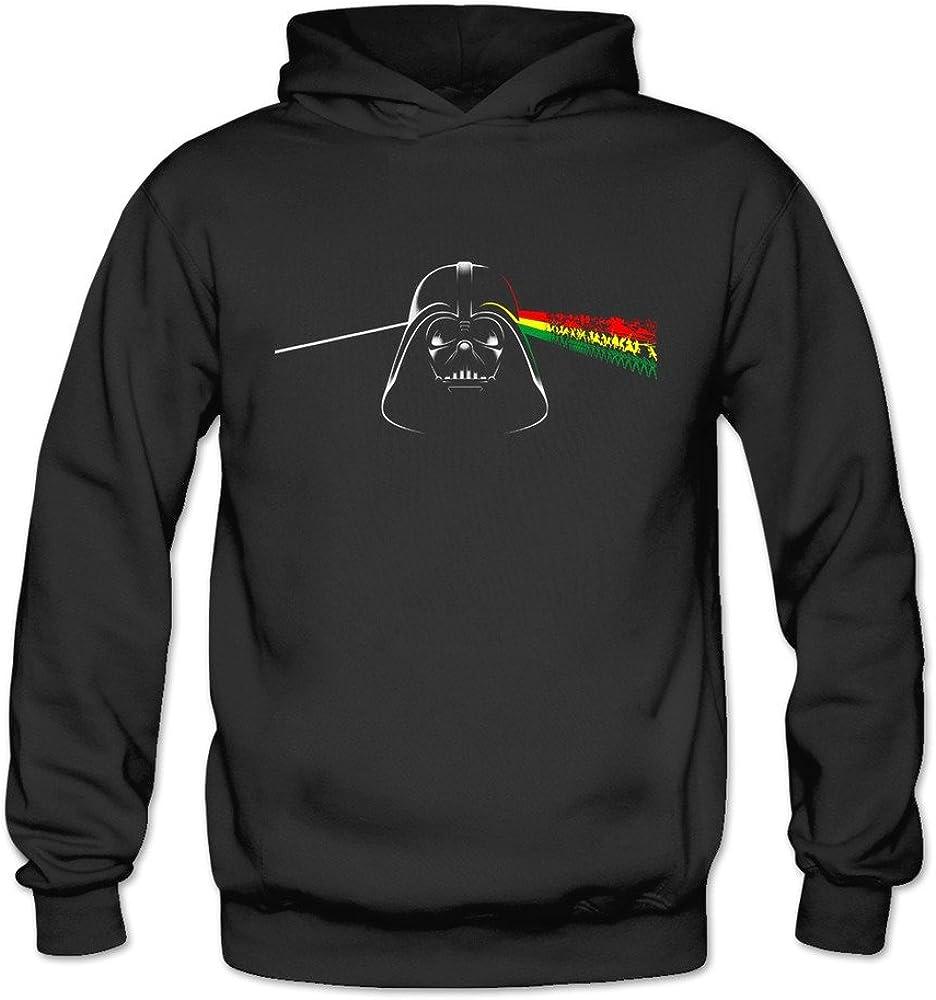 Cute Darth Pink Vader Star Floyd Wars Women's Hood Sweatshirt Black