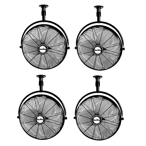 Air King 20-Inch 1/6 HP Non-Oscillating Ceiling Mount Fan