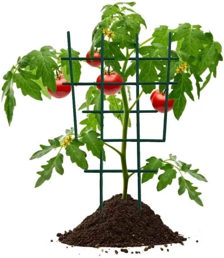 Garden Tool vwlvrsco Plant Rack Durable Planting Tool Green 6Pcs Garden Climbing Plant Pot Flower Support Bracket Leaf Vines Plastic Trellis Easy to Use