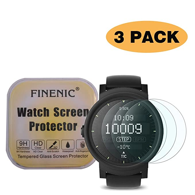 Amazon.com: FINENIC [3 Pack] Screen Protector for Ticwatch 2 ...