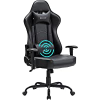 Massage Gaming Chair Racing Video Game Chair Computer Desk Office Chair Swivel Ergonomic Executive Bonded Leather Chair…