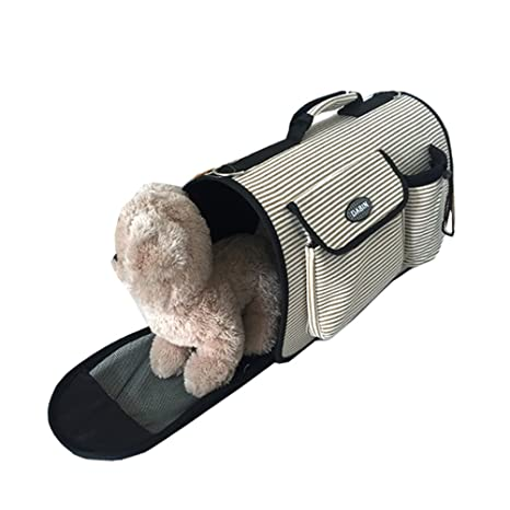 a8989b90bf13b9 Freerun Fashion Small Dog Cat Pet Carrier Bags Travel Mesh Tote Handbag  Breathable Portable Sling Carrier
