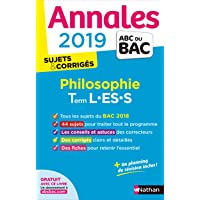 Annales ABC du BAC 2019 - Philosophie - Term L-ES-S