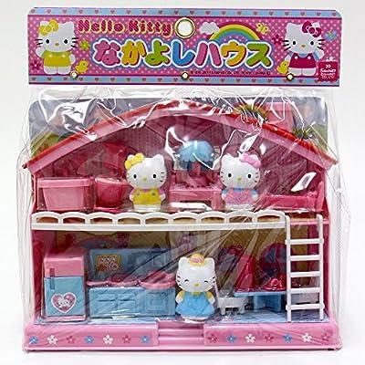 Hello Kitty Sanrio Japan Play House Set  Good Friend House: Toys & Games