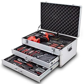 Bituxx 206 Tlg Werkzeugkiste Komplett Werkzeugkoffer Bestuckt