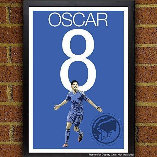 Oscar Poster - Chelsea Soccer Art