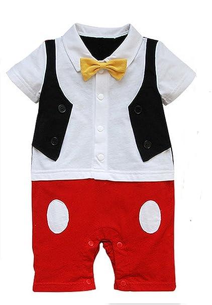 Baby Boy 3d Bowtie foto Prop Pelele Onesie infantil niño dibujos animados mono: Amazon.es: Ropa y accesorios