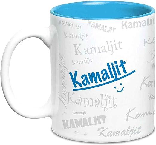Amazon.com: Taza de cerámica personalizada con texto en ...