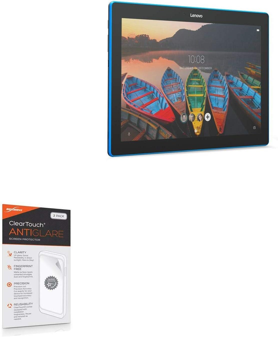 Lenovo TAB 10 TB-X103F Screen Protector, BoxWave [ClearTouch Anti-Glare (2-Pack)] Anti-Fingerprint Matte Film Skin for Lenovo TAB 10 TB-X103F