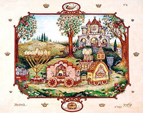 Imagekind Wall Art Print entitled Mitzvah Train by Michoel Muchnik | 10 x 8