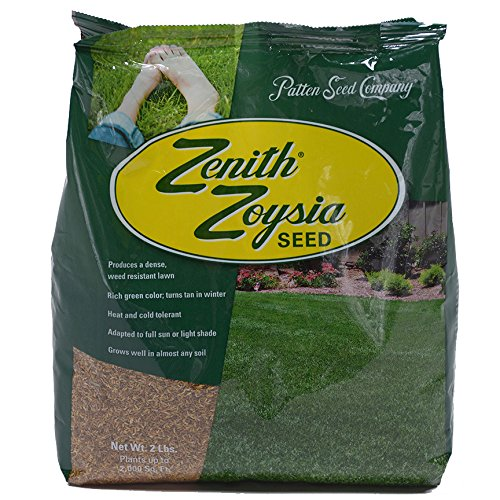 Zenith Zoysia Grass Seed (2 lbs.) 100% Pure Seed by Patten Seed Company