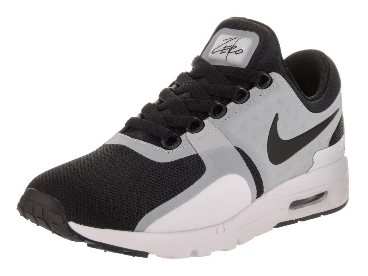 NIKE Women's Air Max Zero White/Black Running Shoe 10.5 Women US