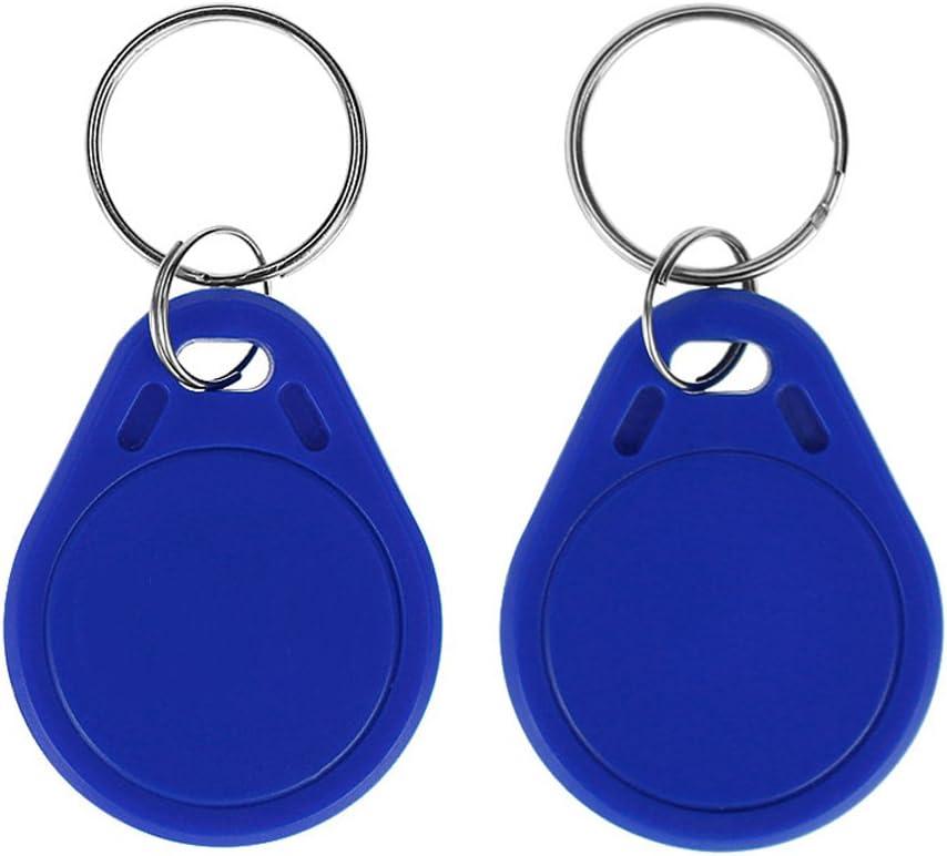 50pcs HFeng V/éritable 13.56MHz UID Changement de Porte-cl/és modifiable Token NFC Tag R/éinscriptible RFID /Écriture Accessable Carte de contr/ôle dacc/ès Utilis/é pour Copier//Cloner la Carte