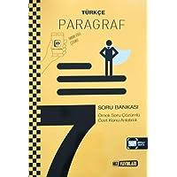 7. Sınıf Türkçe Paragraf Soru Bankası