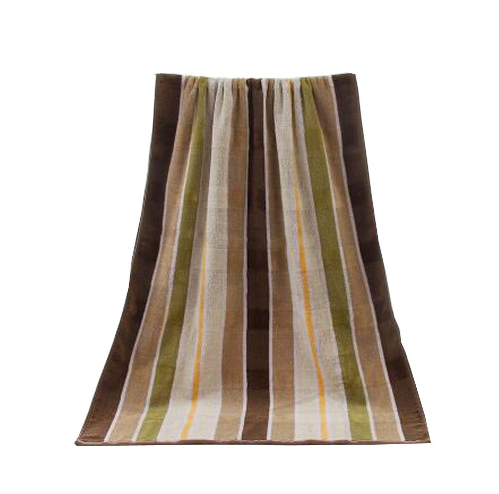 Toallas de baño de algodón para el hotel de lujo Spa Home [Brown Stripes]: Amazon.es: Hogar